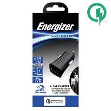 Снимка от Зарядно за автомобил с USB-C кабел, 2xUSB, QC3, 18W - ENERGIZER