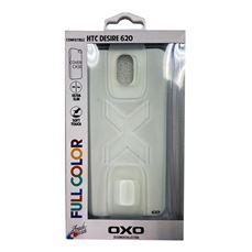 Снимка от Кейс - Гръб за HTC Desire 620, бял - OXO PLATINUM