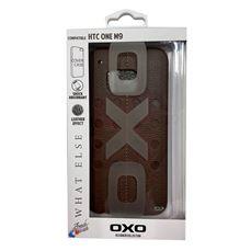 Снимка от Кейс - Гръб за HTC Оne М9, кафяв - OXO PLATINUM